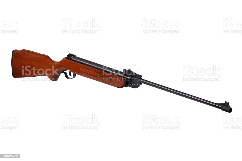 Air rifle royalty-free stock photo