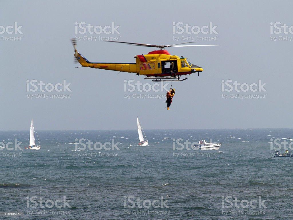 Air Sea Rescue stock photo