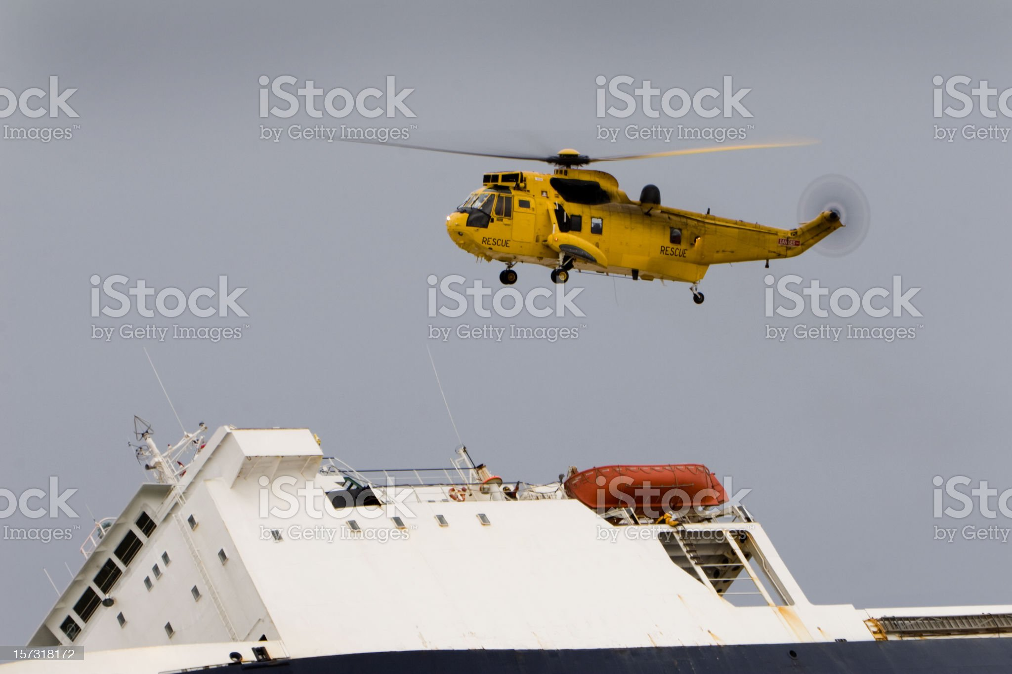 Air Sea Rescue royalty-free stock photo