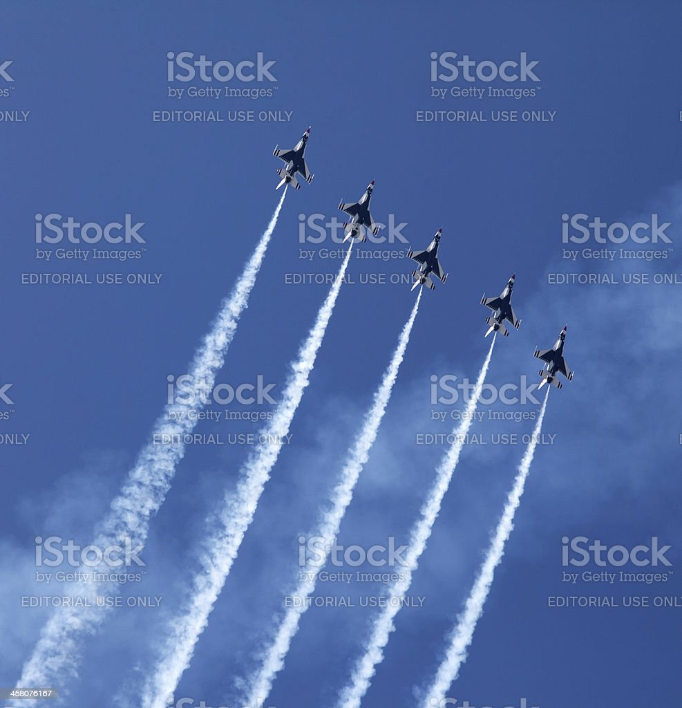 Air Show Turkey 2011 stock photo