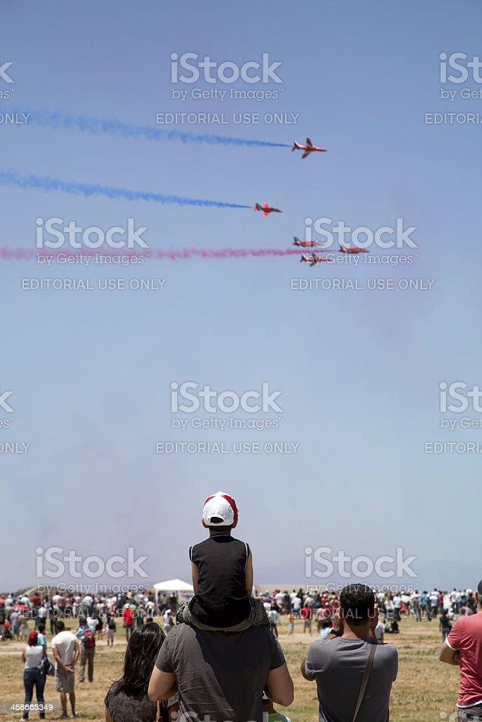 Air Show Turkey 2011 stock photo