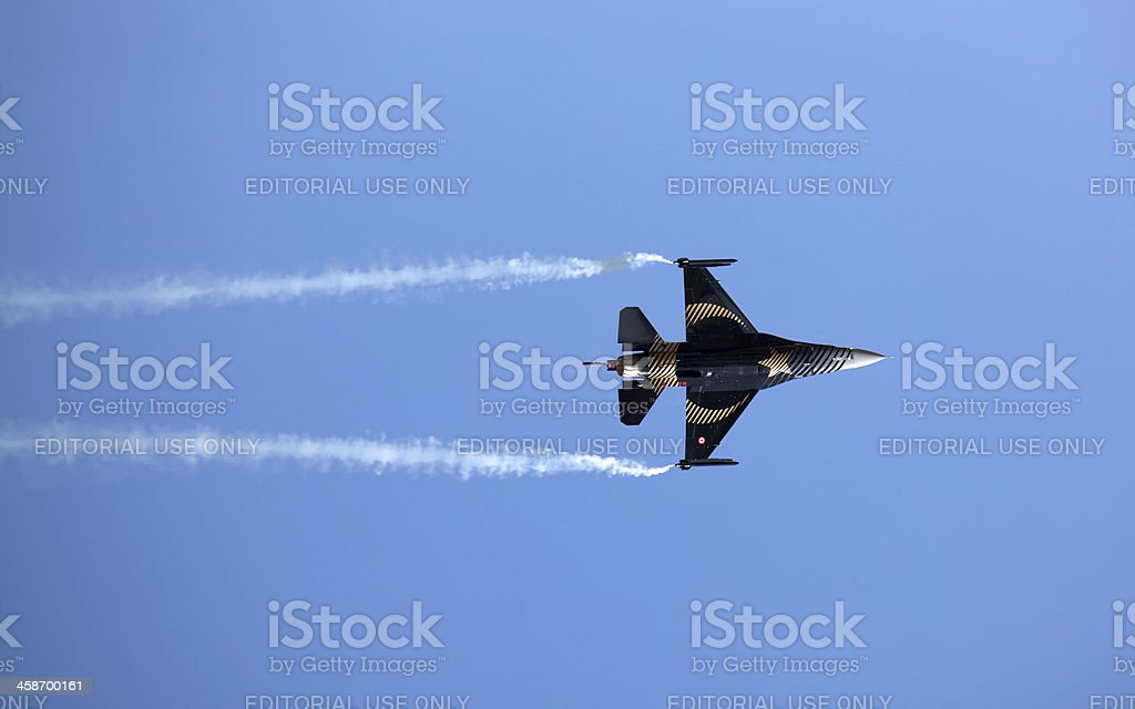 Air Show Turkey 2011 royalty-free stock photo