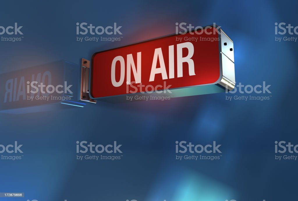 Air sign on stock photo