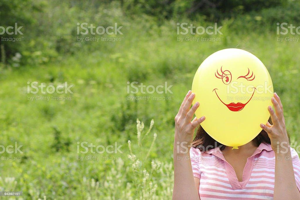 Air uśmiech zbiór zdjęć royalty-free