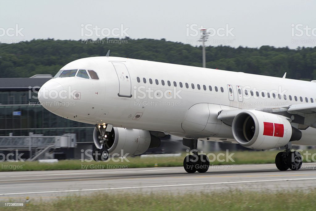 air take off royalty-free stock photo