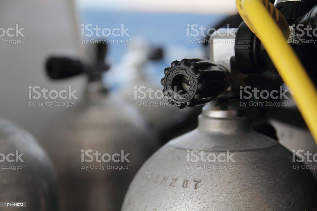 Air Tank stock photo