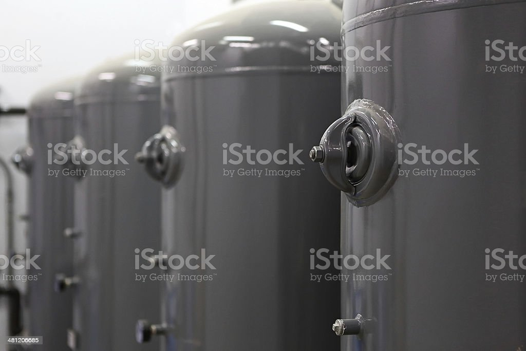 Air Tanks stock photo