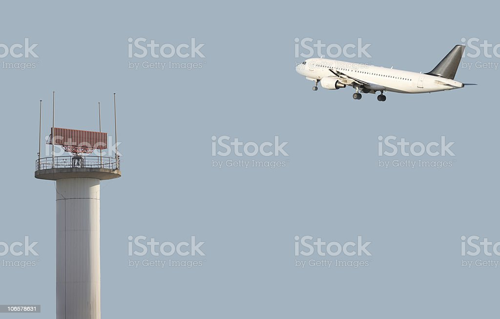 air traffic control royalty-free stock photo
