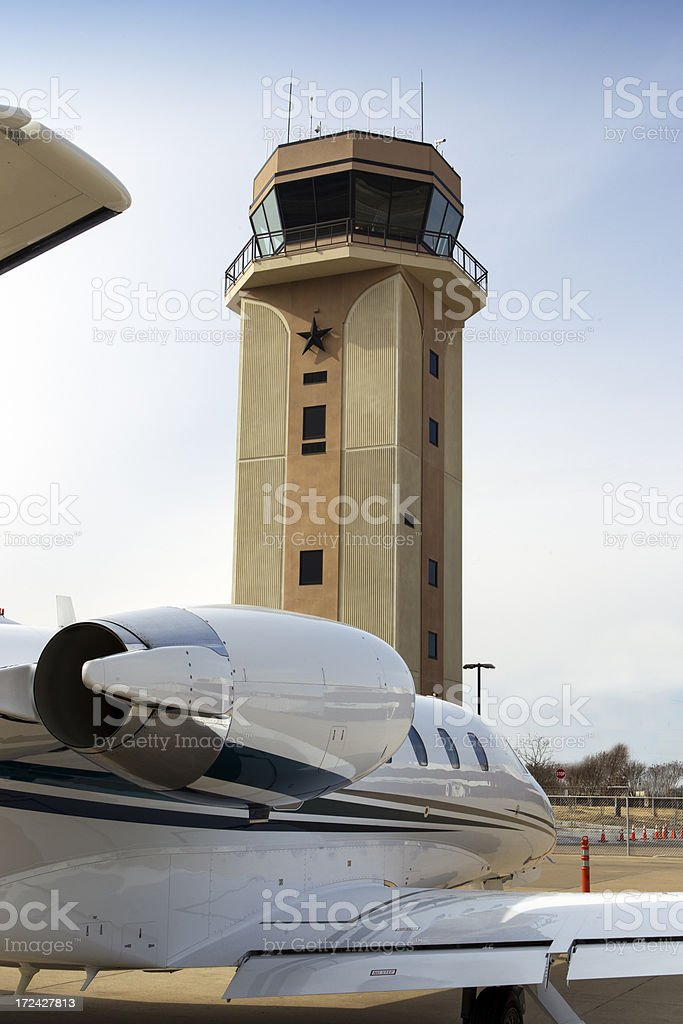 Air Traffic Control Tower royalty-free stock photo