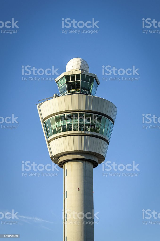 Air Traffic Control Tower stock photo