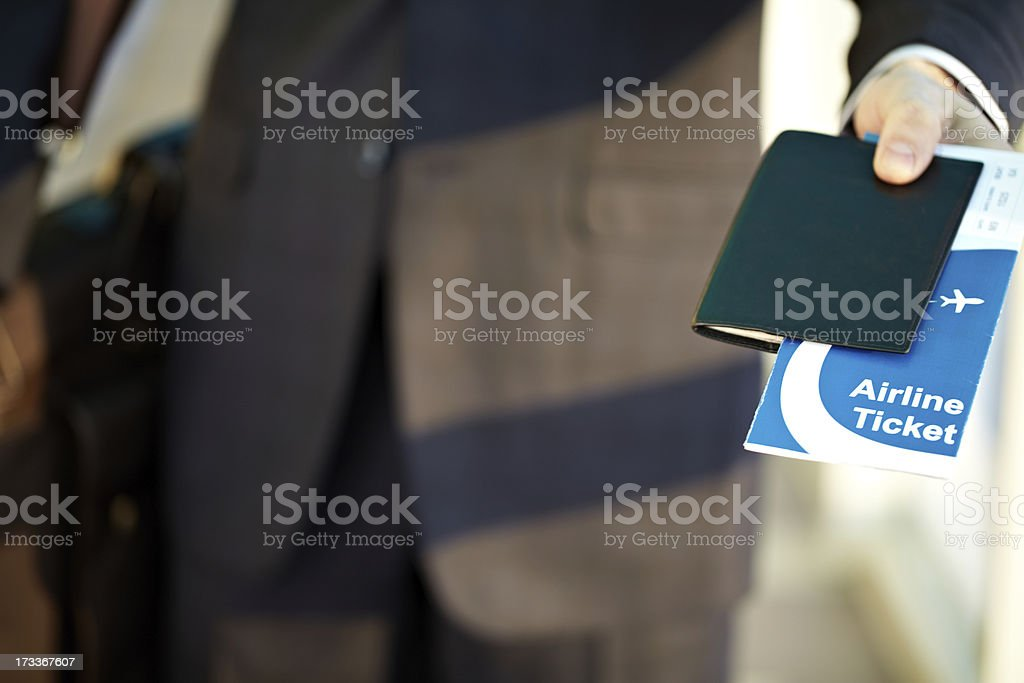Air travel royalty-free stock photo