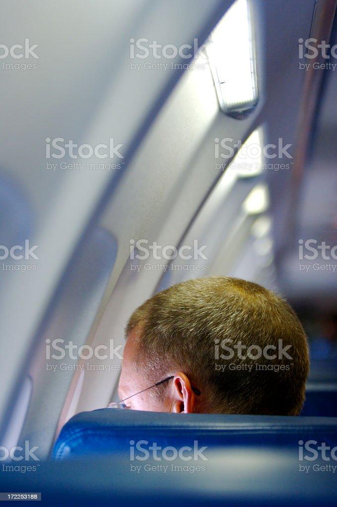 Air Traveler stock photo