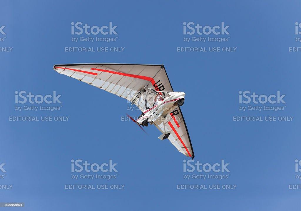Air trike stock photo