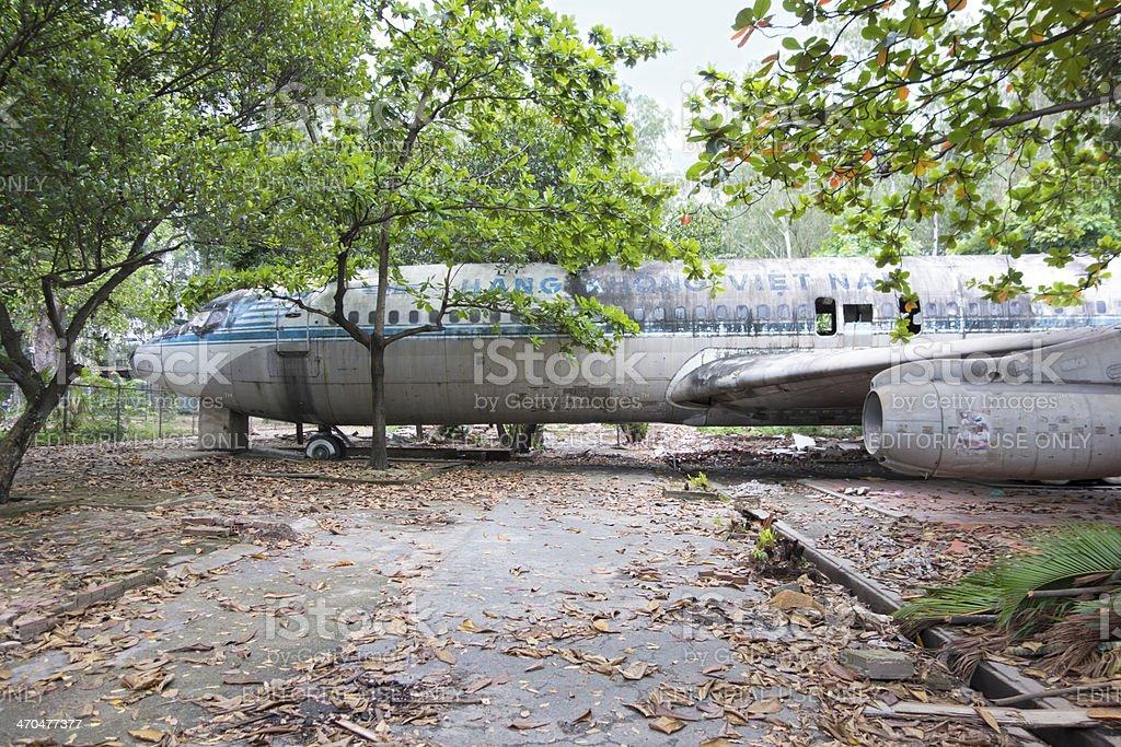 Air Vietnam old B707 Aircraft stock photo