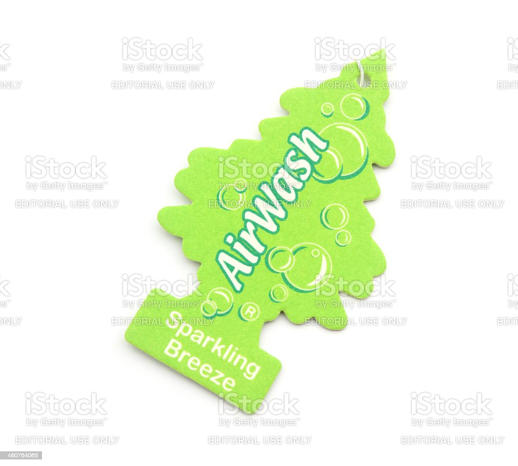 Air Wash scented freshener royalty-free stock photo