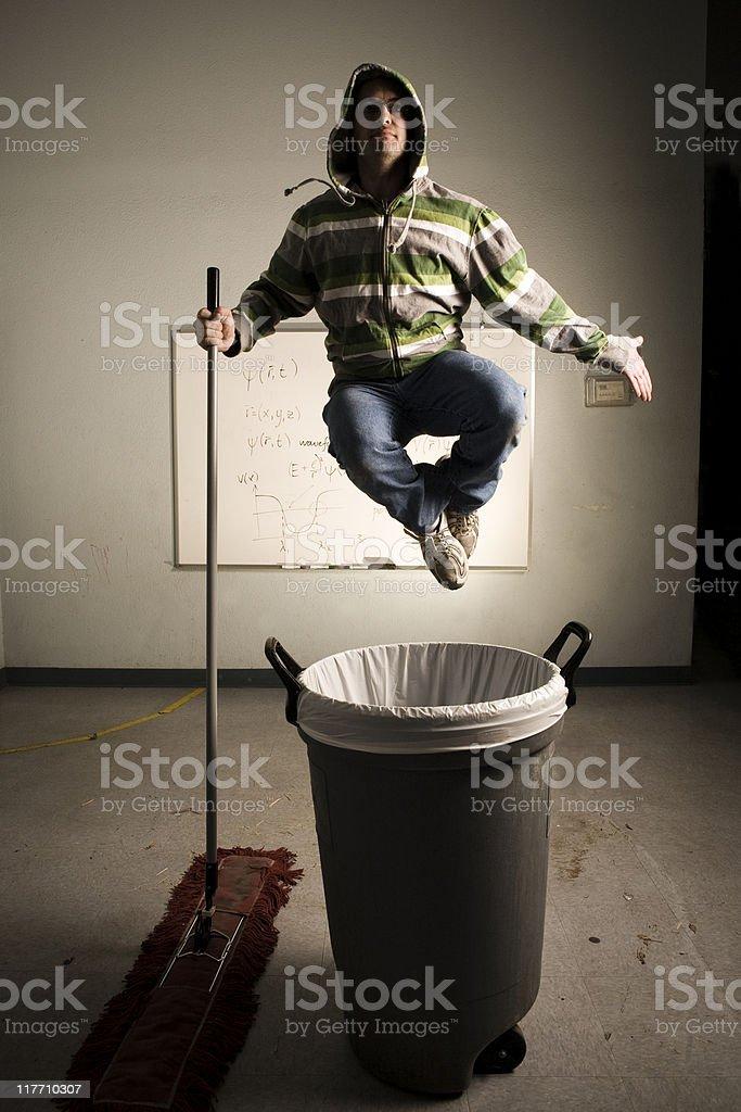 Air Zen Janitor stock photo