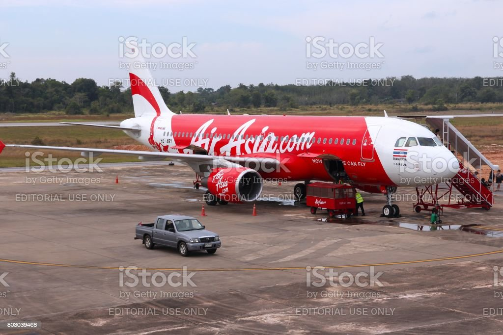 AirAsia Airbus stock photo