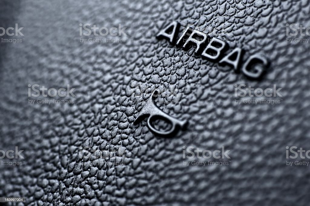 Airbag and Honk stock photo