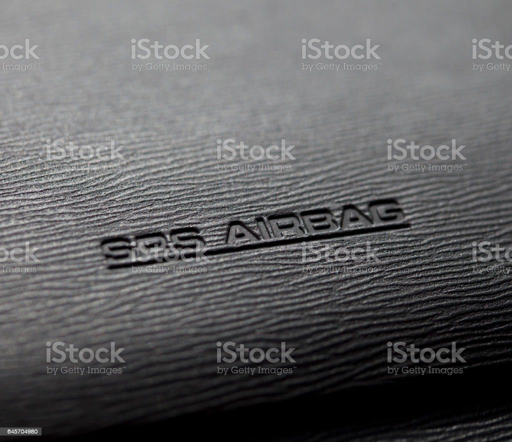 Airbag stock photo