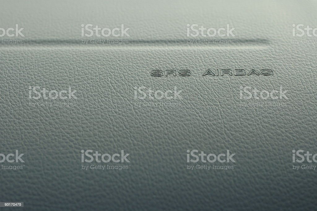 SRS Airbag stock photo