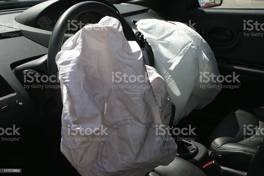 Airbags stock photo
