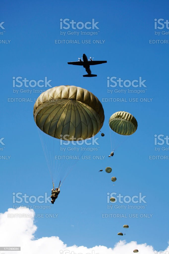 Airborne Operation Market Garden, Ede, Netherlands stock photo