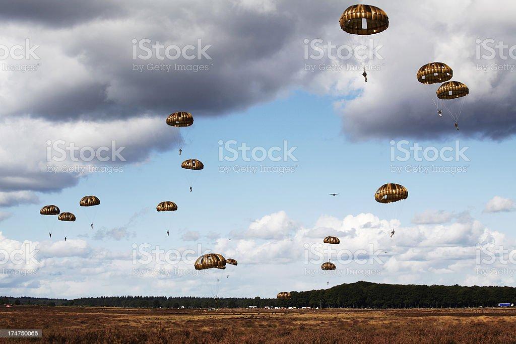 Airborne Operation Market Garden, Netherlands stock photo