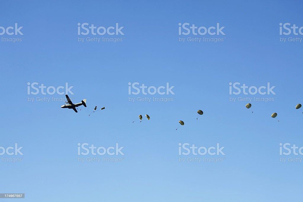 Airborne Operation Market Garden stock photo