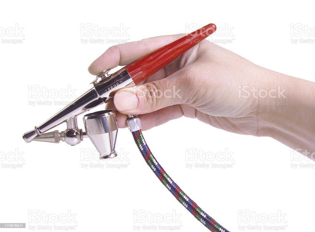 airbrush tool royalty-free stock photo
