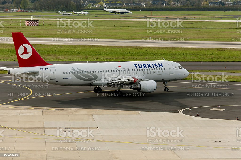 Airbus  A319-100 stock photo