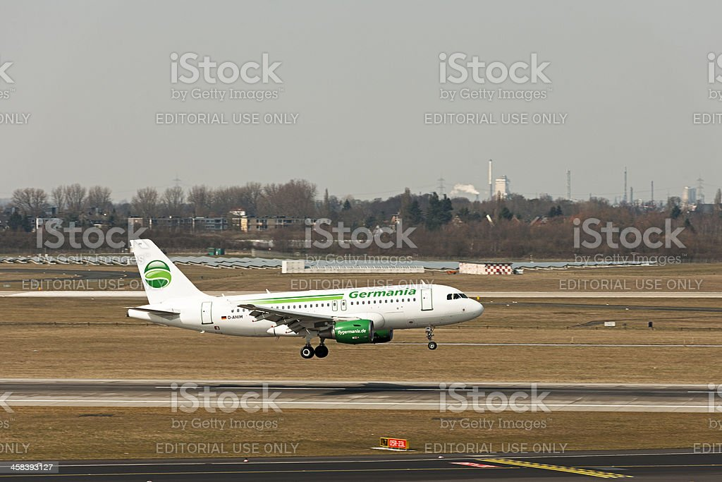 Airbus A319-112 stock photo