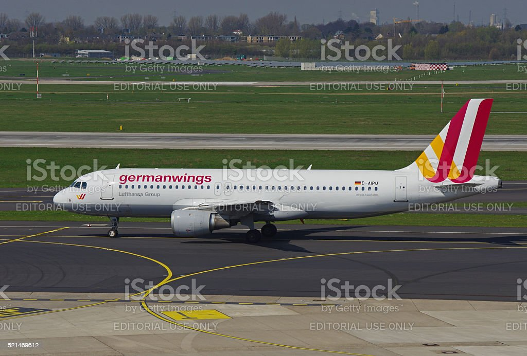 Airbus A320-200 of Germanwings stock photo
