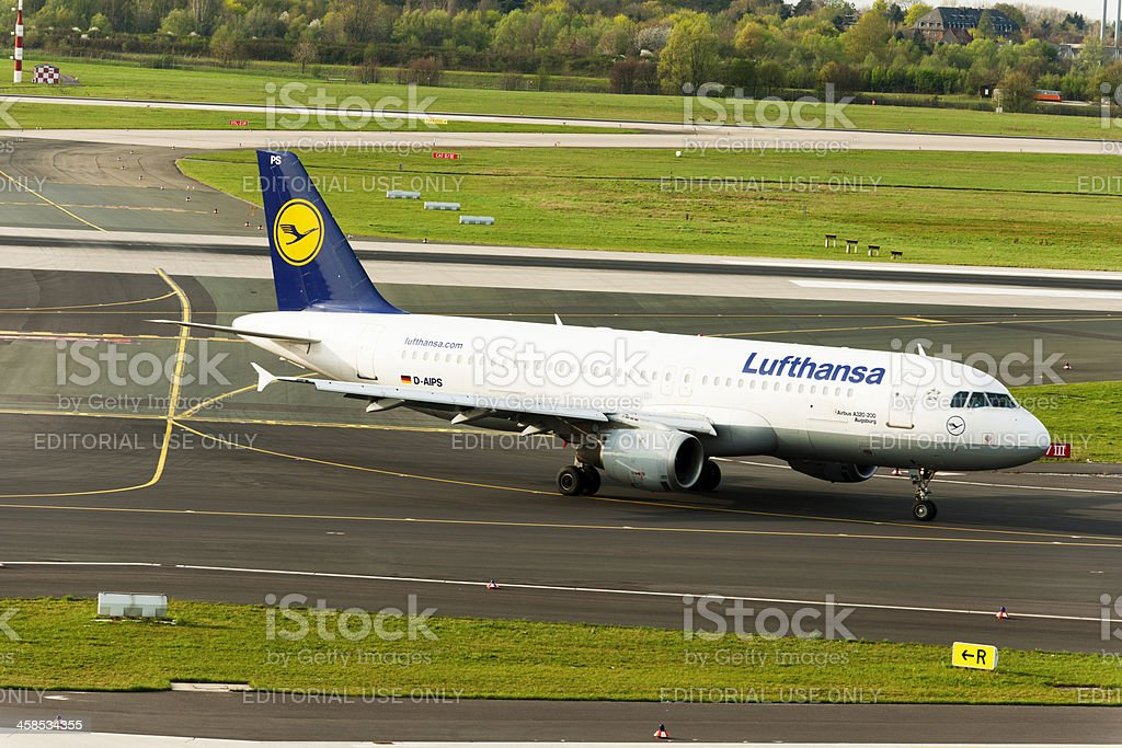 Airbus A320-200 stock photo