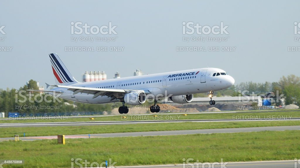 Airbus A321 royalty-free stock photo