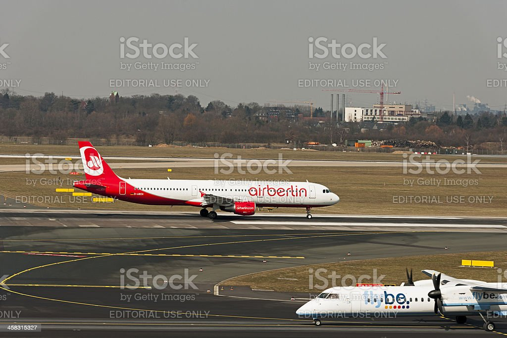 Airbus A321-211 royalty-free stock photo