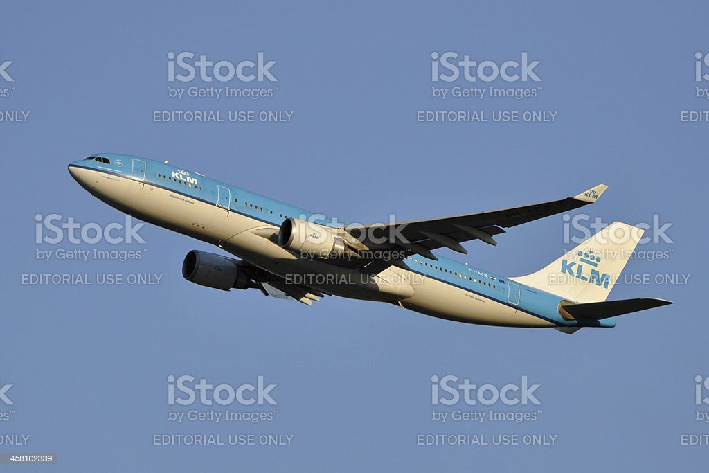 KLM Airbus A330 stock photo