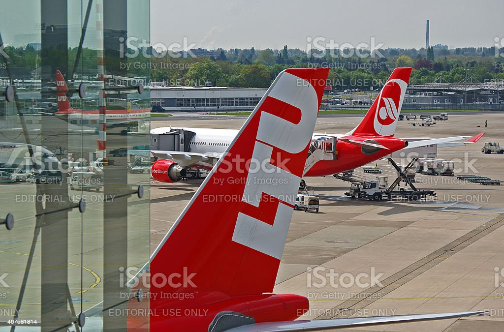 Airbus A330 stock photo