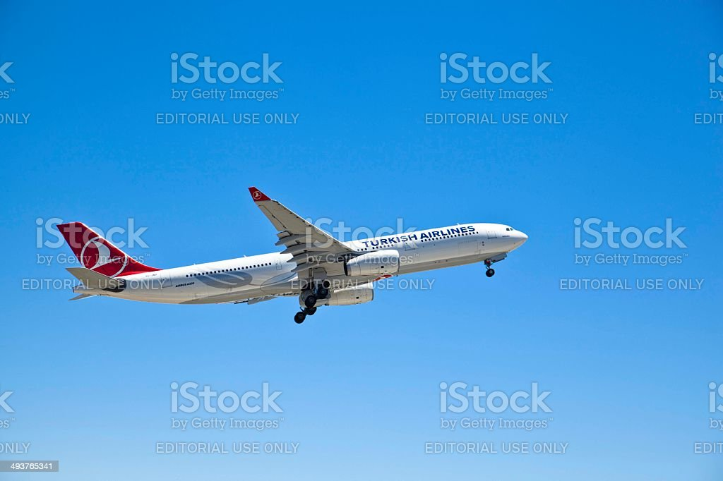 Airbus A330 royalty-free stock photo