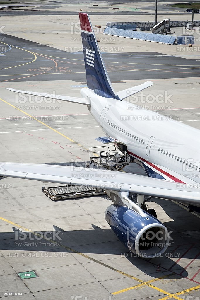 Airbus A330-200 of US Airways stock photo