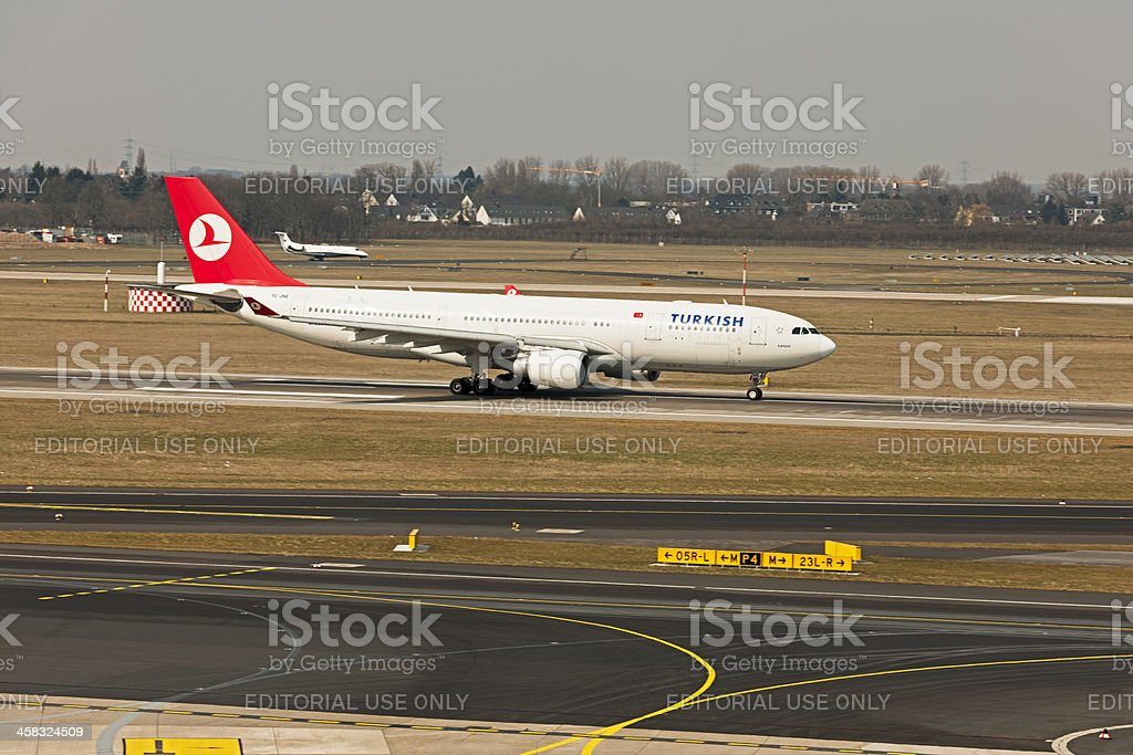Airbus A330-203 royalty-free stock photo