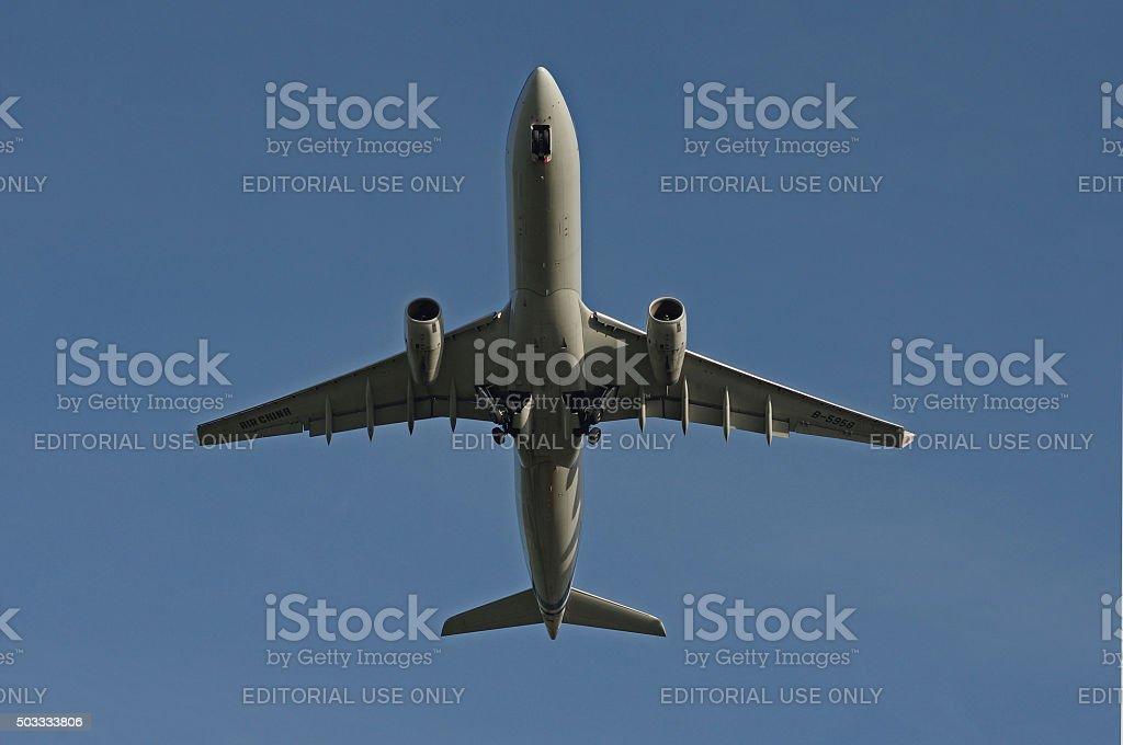 Airbus A330-300 of Air China stock photo
