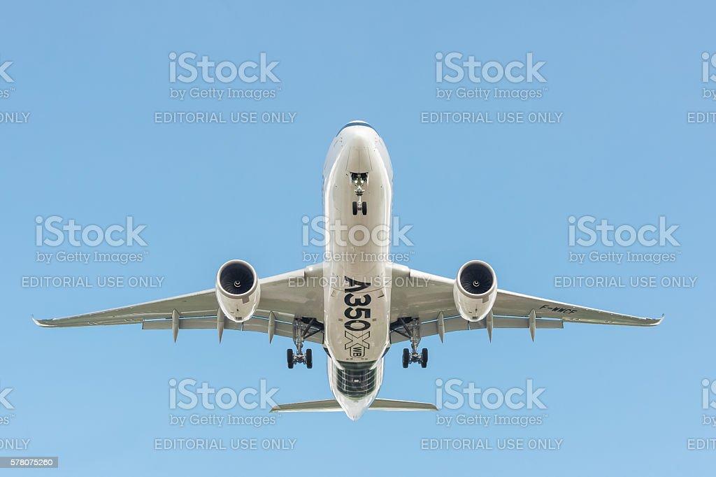 Airbus A350 XWB stock photo