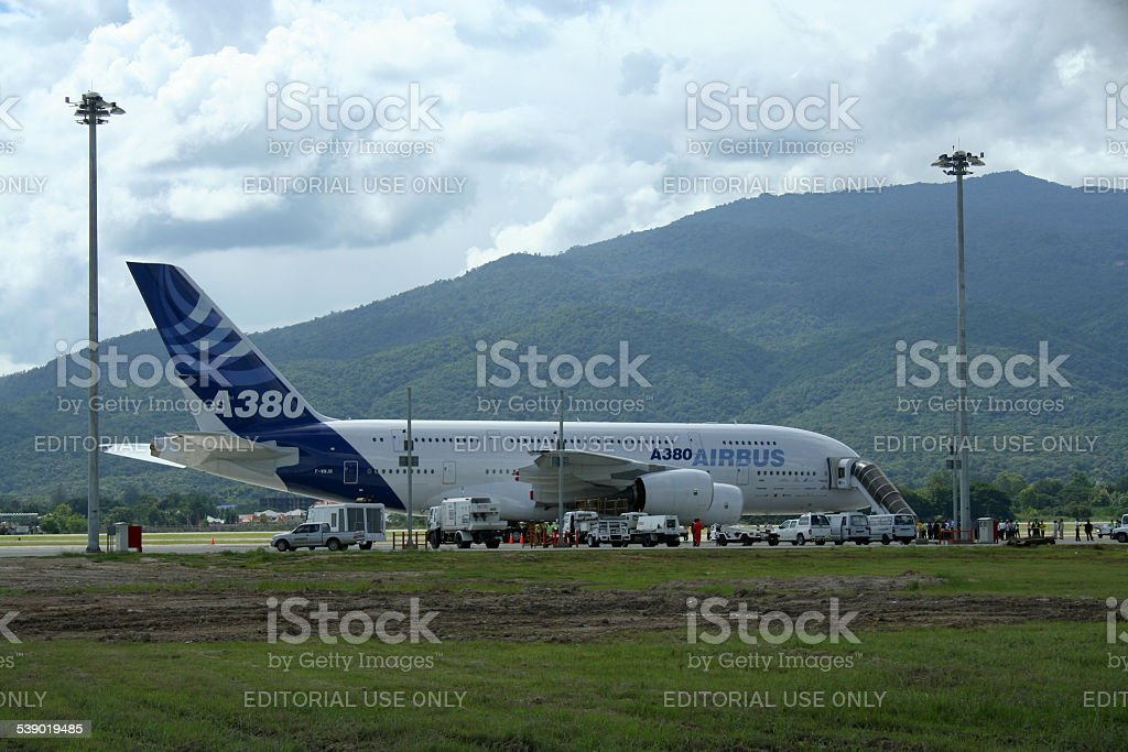 F-WWJB Airbus A380-800 stock photo
