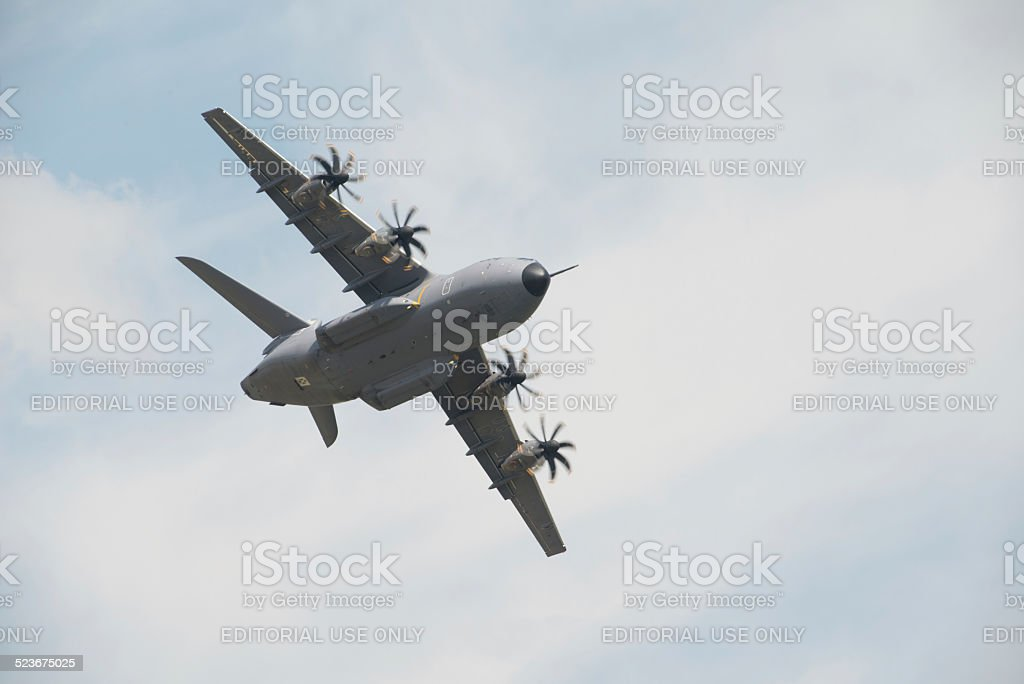 RAF Airbus A400M transport aircraft stock photo