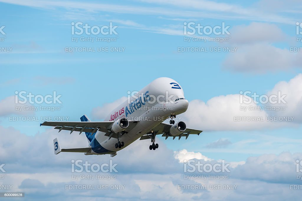 Airbus Beluga number three stock photo