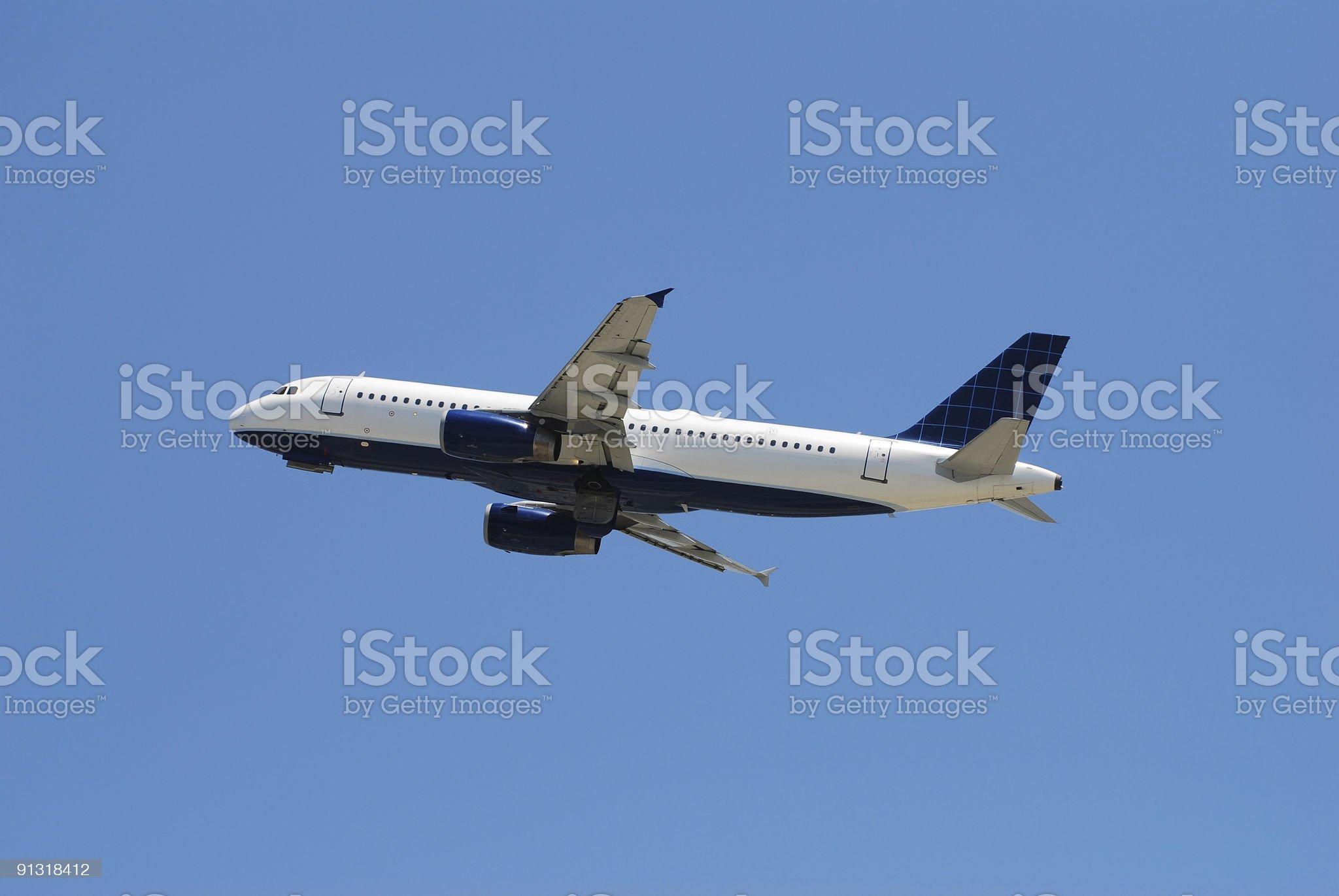 Airbus passenger jet royalty-free stock photo