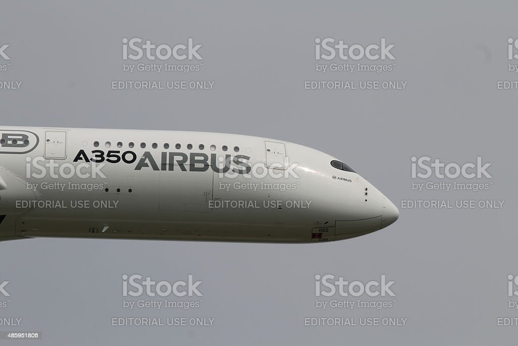 A350 Airbus stock photo