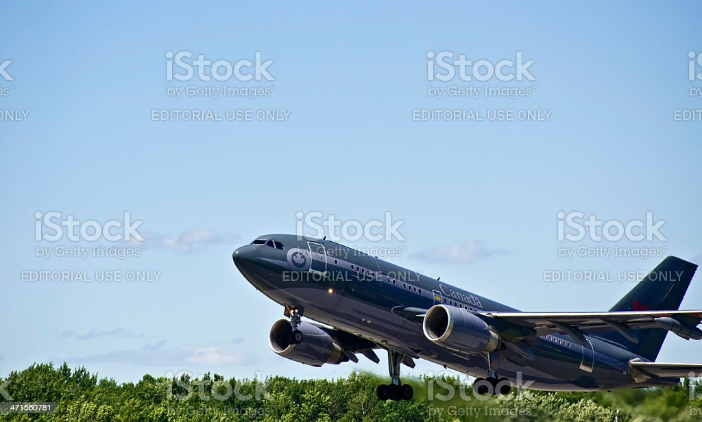 Airbus Takeoff stock photo