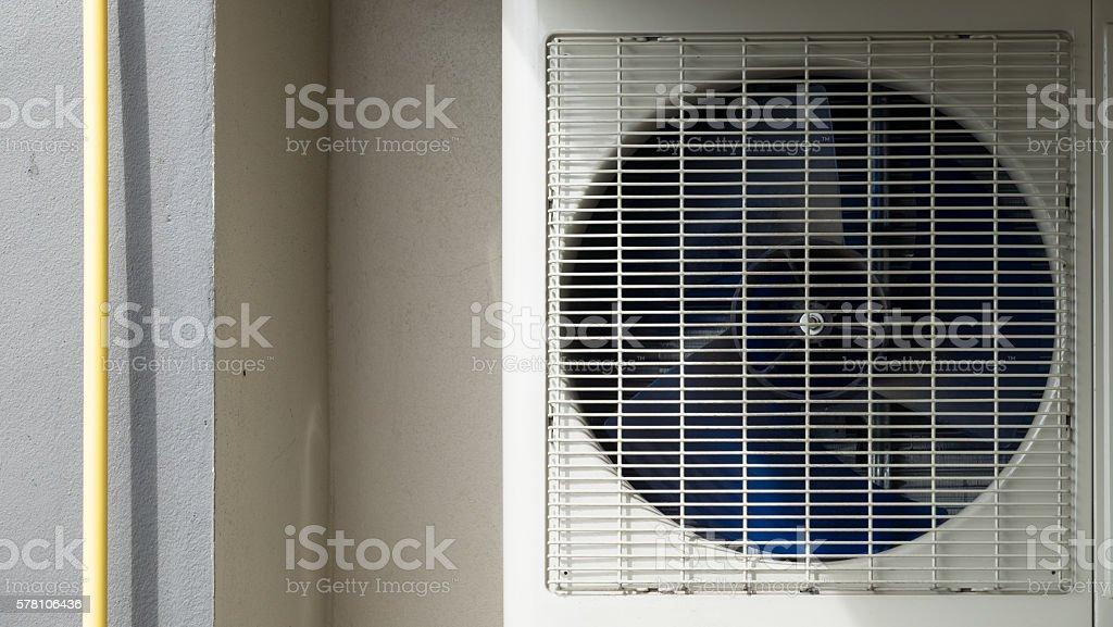 Aircondition Compresser stock photo