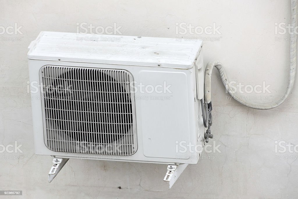 Air-Condition Outside Unit royalty-free stock photo